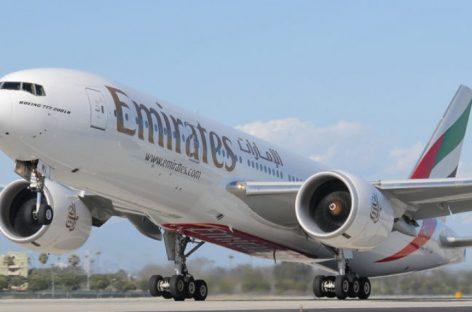 Emirates pagará hasta 150 mil euros de gastos médicos a pasajeros por covid-19