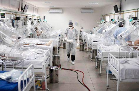 Brasil sobrepasó los 87 mil decesos a causa de la pandemia