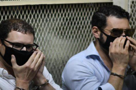 Hijos de Martinelli seguirán detenidos en Guatemala a la espera de ser extraditados a EEUU