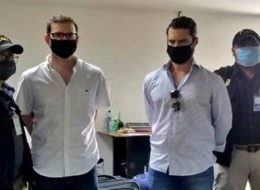 Hermanos Martinelli fueron detenidos en Guatemala (+Videos)