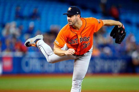 Justin Verlander abrirá por Astros en Día Inaugural